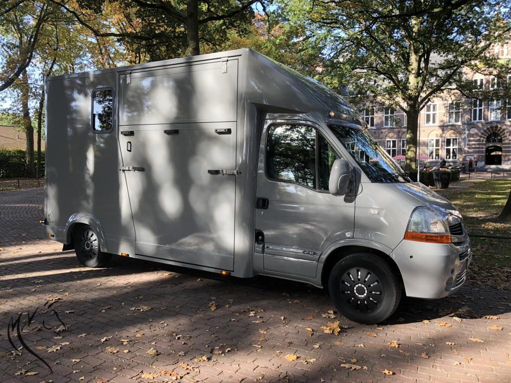 Renault Master, Nieuweopbouw